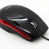 marvel black/red mouse