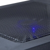 twist air ventilador LED azul