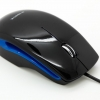 marvel black/blue souris